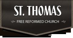 St. Thomas Free Reformed Church